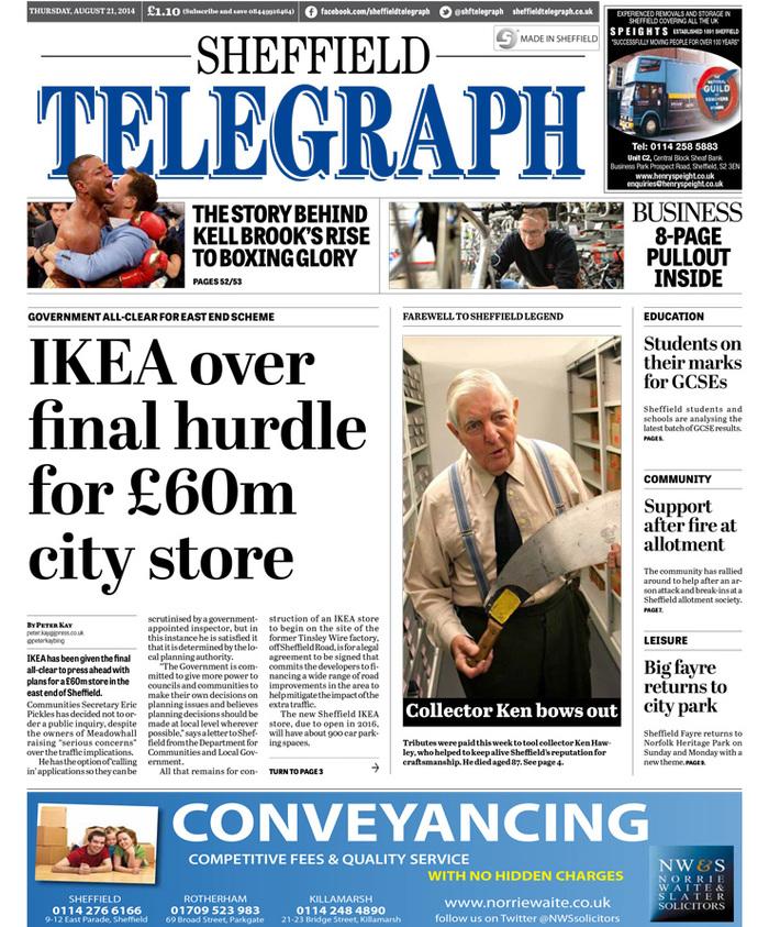 Sheffield Telegraph