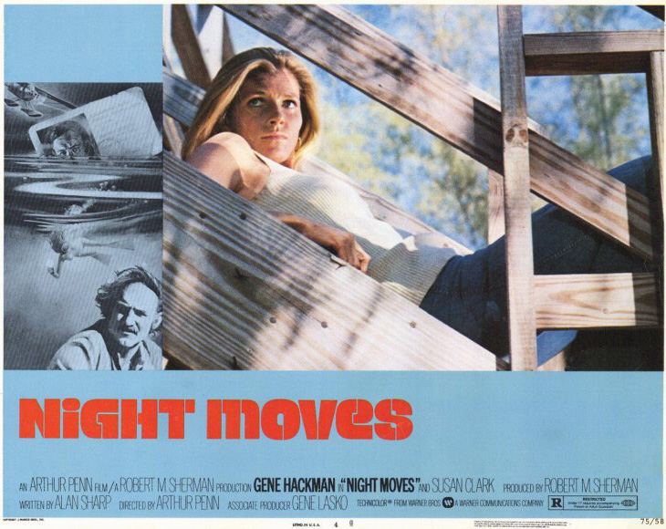 night moves movie poster and promotional artifacts 1975 2005