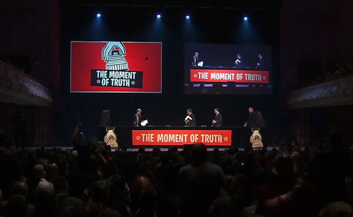The Moment of Truth event 3