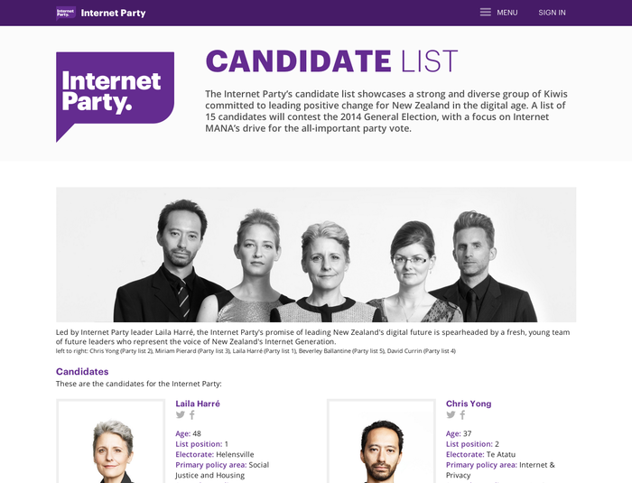New Zealand Internet Party 10