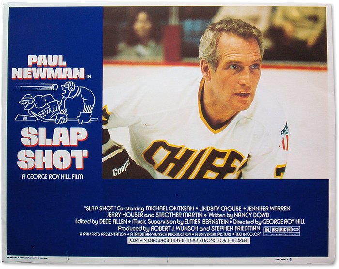 Slap Shot poster and lobby cards 2