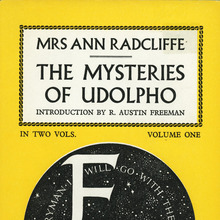 <cite>The Mysteries of Udolpho</cite> by Ann Radcliffe