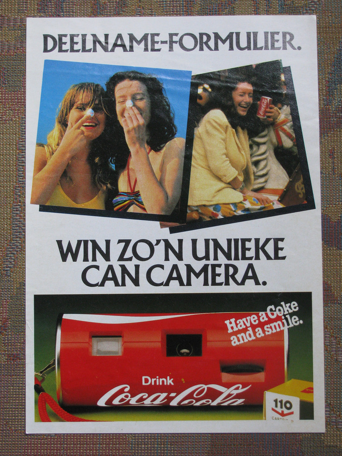 """Entry form. Win a unique Can Camera."""