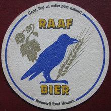 Raaf Bier coaster