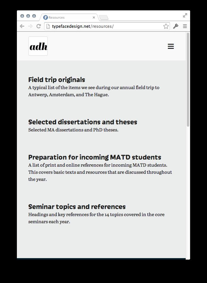Typefacedesign.net 6
