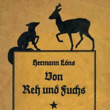 <cite>Von Reh und Fuchs</cite> – Hermann Löns