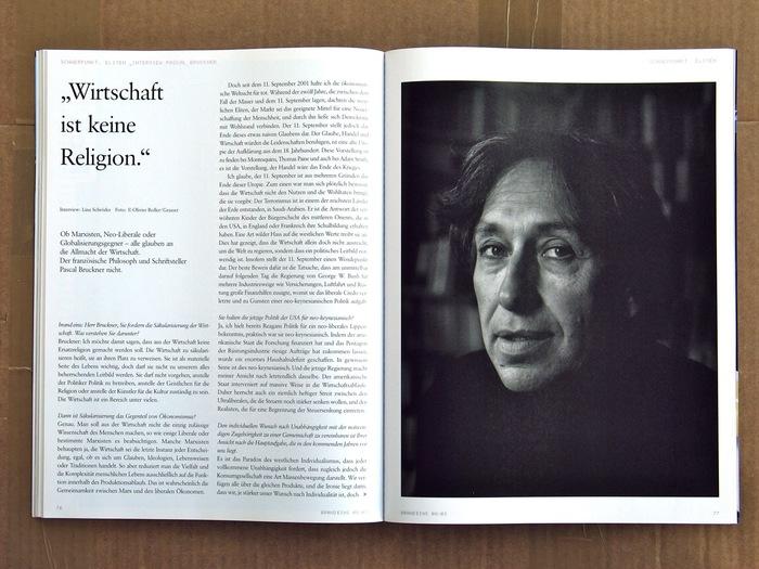 brand eins Magazine 12