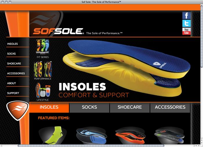 Sof Sole website 1