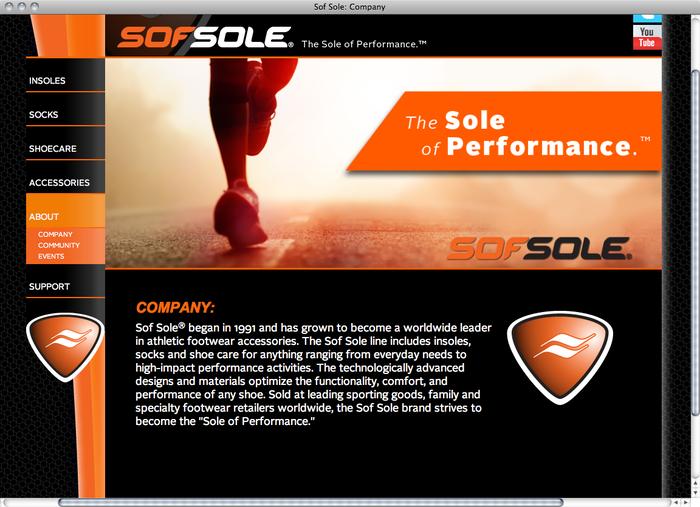 Sof Sole website 4