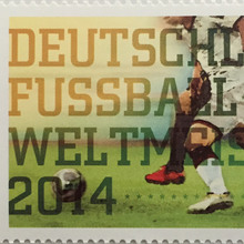 German World Cup Stamp 2014