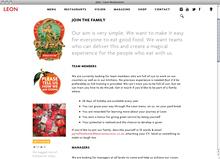 <cite>Leon Restaurants</cite> website