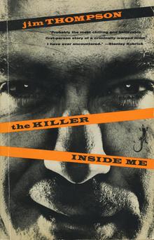 <cite>The Killer Inside Me</cite> by Jim Thompson