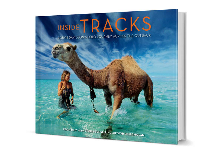 Inside Tracks. Robyn Davidson's Solo Journey Across the Outback by Rick Smolan 1