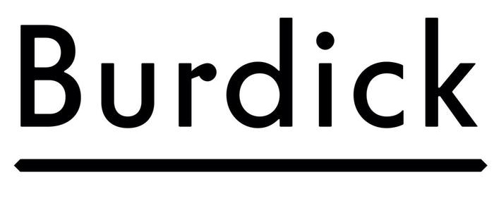 The Burdick Brewery logotype is a modfied Telefon.