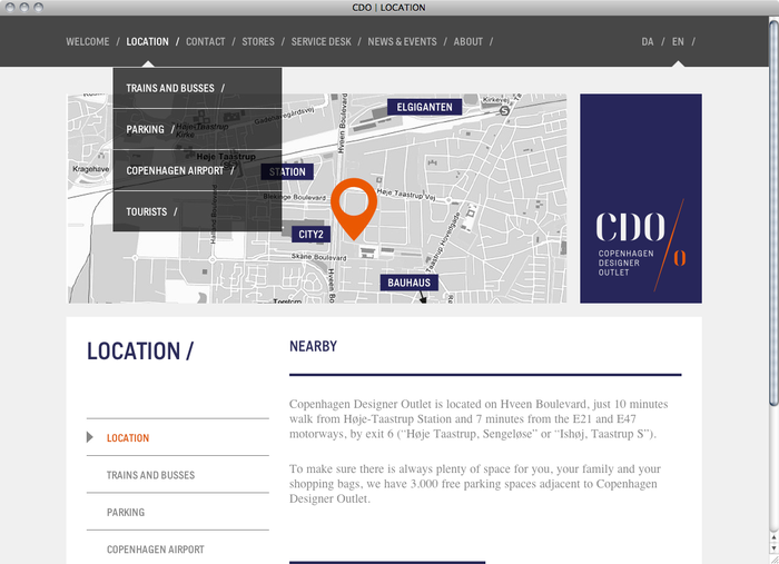 Copenhagen Designer Outlet website 3