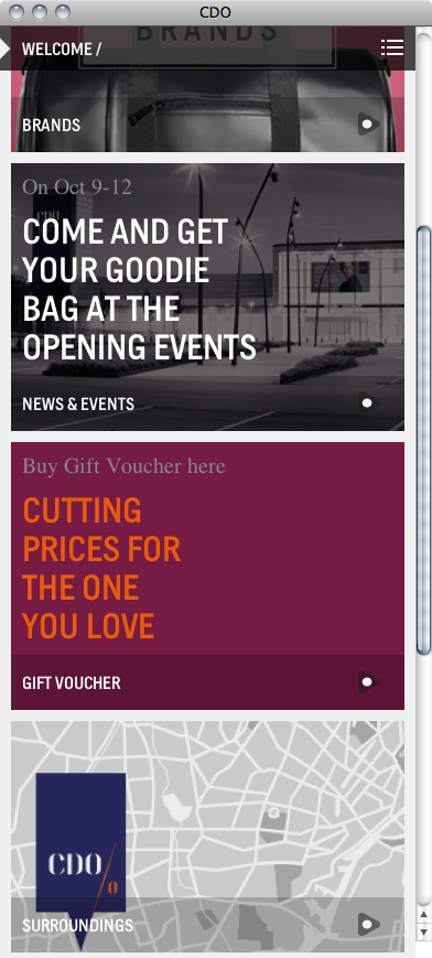 Copenhagen Designer Outlet website 4