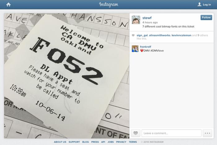 Instagram app and website (2012) 10