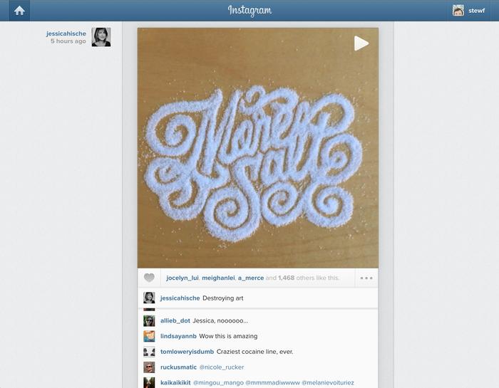 Instagram app and website (2012) 11