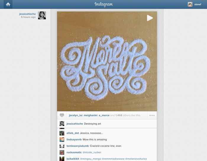 Instagram app and website (2012) 11