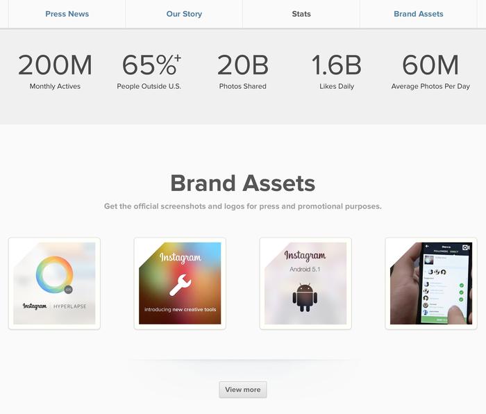 Instagram app and website (2012) 13