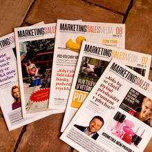 <cite>Marketing Sales Media</cite> magazine