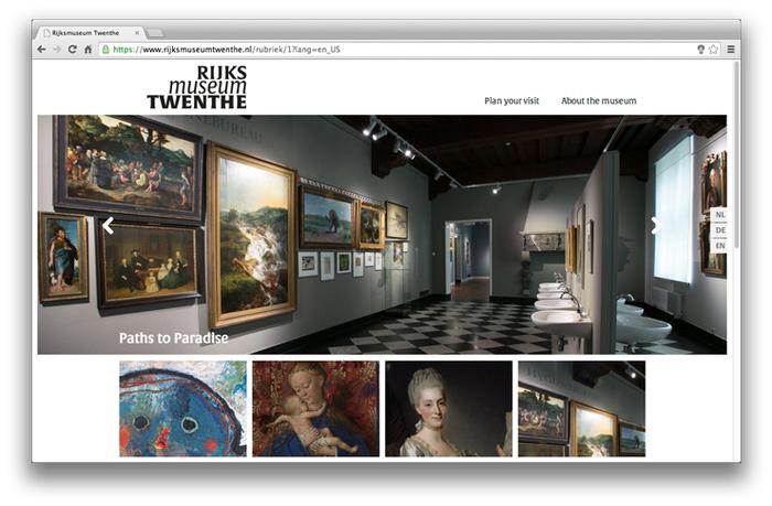 Rijksmuseum Twenthe website 1