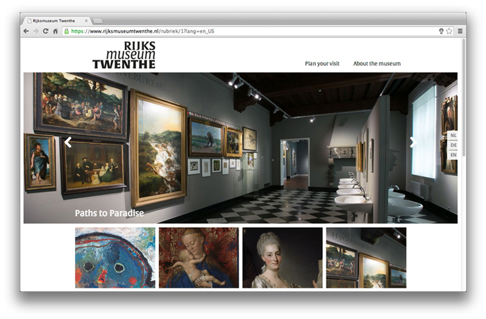 Rijksmuseum Twenthe website 1