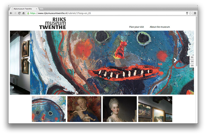 Rijksmuseum Twenthe website 2