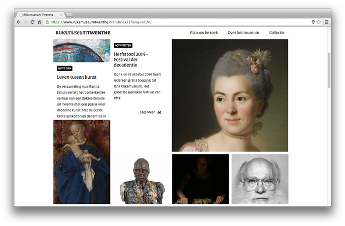 Rijksmuseum Twenthe website 3