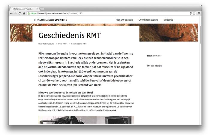 Rijksmuseum Twenthe website 5