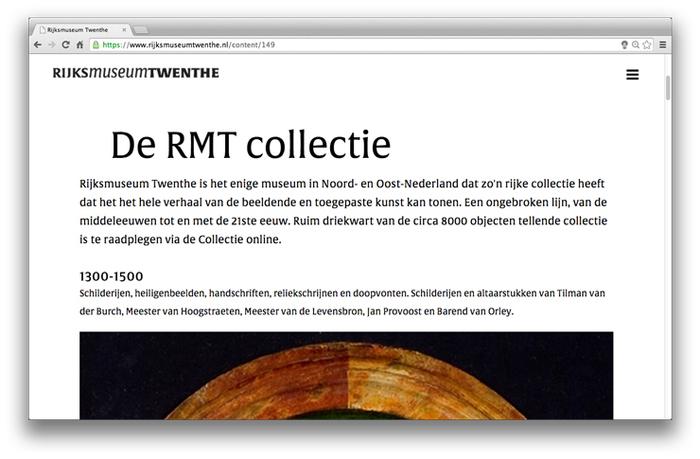 Rijksmuseum Twenthe website 6