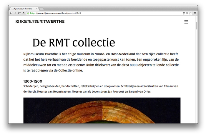 Rijksmuseum Twenthe website 6