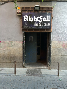 NightFall metal club, Madrid