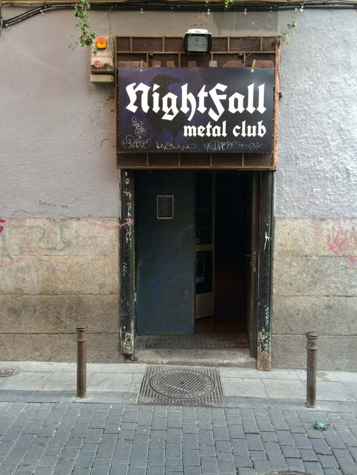 NightFall metal club, Madrid