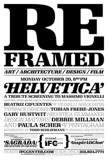 <cite>Reframed</cite> poster