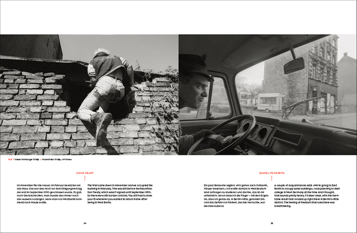 Berlin Wonderland. Wild Years Revisited 1990–1996 by Anke Fesel & Chris Keller / bobsairport (ed.) 4