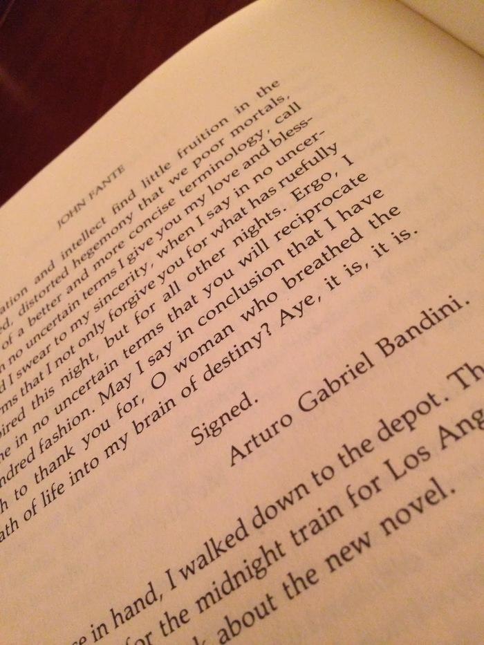 The Road to Los Angeles, Black Sparrow Press edition 5