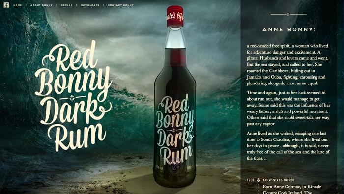 Red Bonny Dark Rum 3