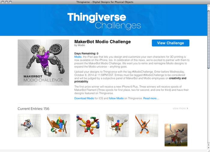 Thingiverse website 5
