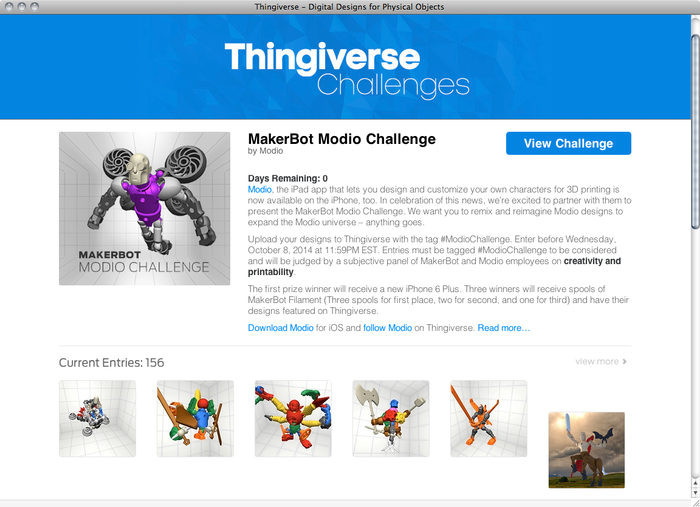 Thingiverse website 5