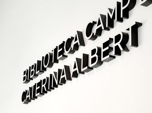 Biblioteca Camp de l'Arpa-Caterina Albert 1
