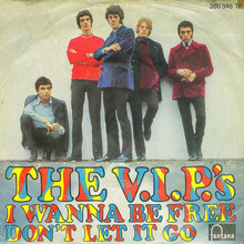 <cite>I Wanna Be Free / Don't Let It Go</cite> by The V.I.P.'s