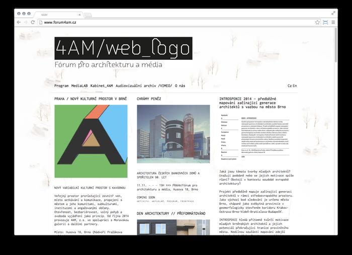 4AM Fórum pro architekturu a média 4