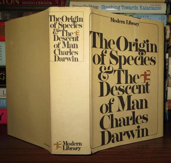 The Origin of Species & The Descent of Man by Charles Darwin
