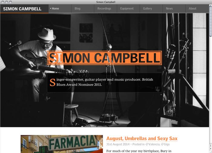 Simon Campbell website 1