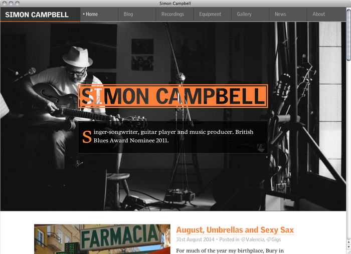 Simon Campbell website 1