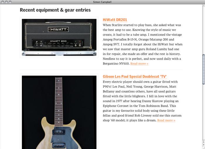 Simon Campbell website 2
