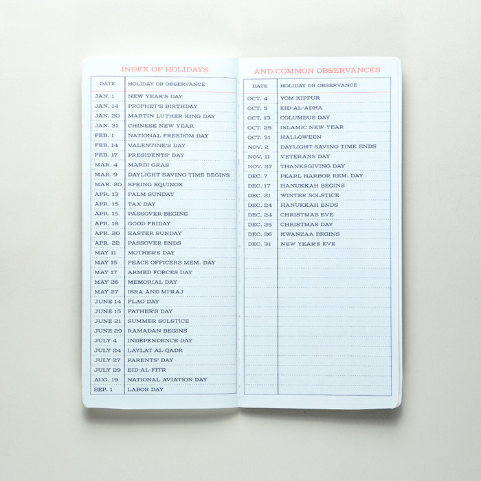 Standard Memorandum Notebook 1
