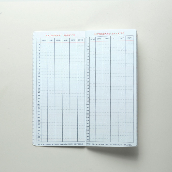 Standard Memorandum Notebook 4
