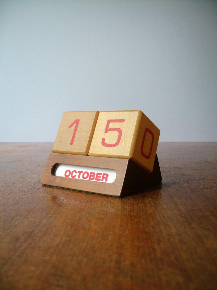 1960s perpetual calendar 2